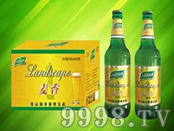 青山绿水麦香啤酒(箱装)