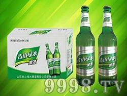 青山绿水啤酒(箱装)