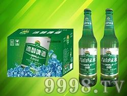 青山绿水冰醇啤酒