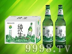 青山绿水纯生啤酒