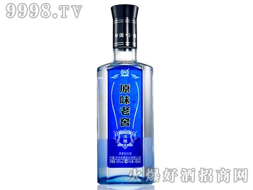泸州原味老窖淡雅光瓶酒