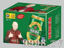 安岛精制啤酒10°-500mlx12