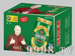 安岛精制啤酒8°-500mlx12