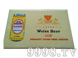 艾利客啤酒1516易拉罐装