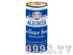 艾利客啤酒1L(蓝)