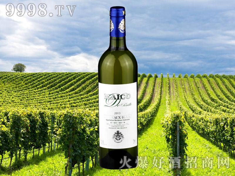 玛歌菩伊乐波尔多干白葡萄酒-红酒招商信息