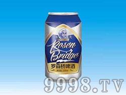 罗森桥爱因斯坦啤酒罐装330ml