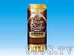 罗森桥爱因斯坦啤酒罐装500ml