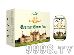德国艾玛士黄啤酒330ml