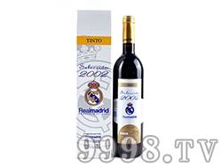 西班牙皇家马德里俱乐部马丁内斯酒庄2002干红葡萄酒