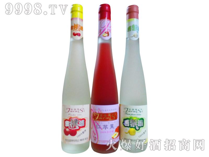 富瑞斯全汁红苹果酒9度