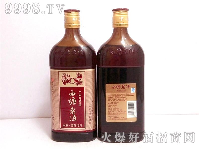 西塘老酒红标十年陈500ML
