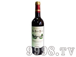 法国-洛克干红葡萄酒Roc Saint Pierre Bordeaux Rouge