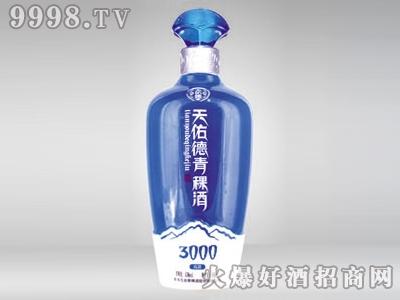 华晶玻璃酒瓶・天佑德青稞酒CP-145