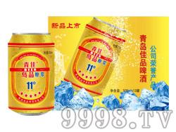 青岛佳品原浆啤酒320ML(箱)