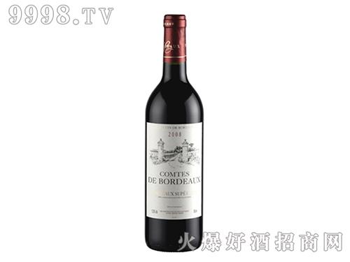 波尔多伯爵 超级波尔多红葡萄酒