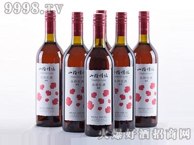 山楂情缘红叶版720ml甜型酒