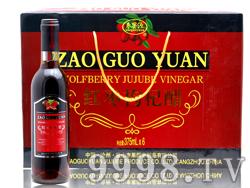 枣果源-红枣枸杞醋-375毫升礼盒