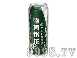 雪域银花啤酒特酿500ml罐装