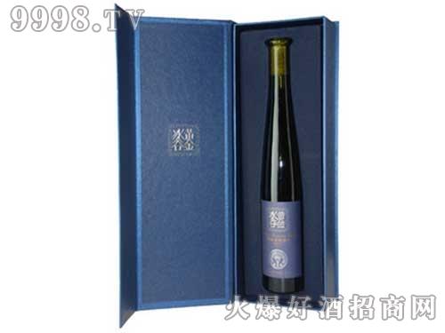 张裕黄金冰谷冰酒酒庄蓝钻威代尔冰葡萄酒375ml