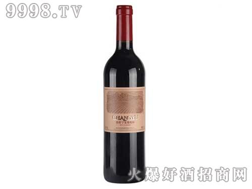 张裕宁夏葡萄园美乐干红葡萄酒750ml
