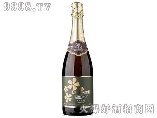 张裕星愿365加气苹果酒-起泡酒750ml