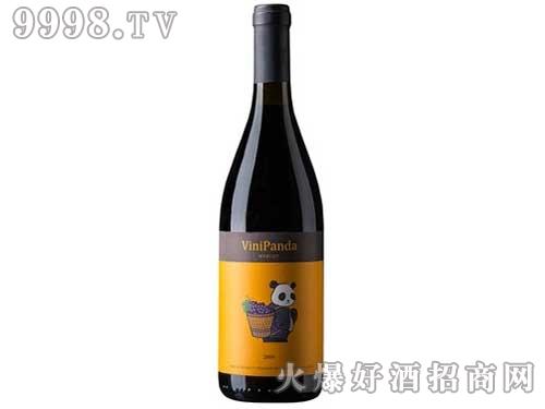张裕熊猫梅鹿辄干红葡萄酒(果香)750ml