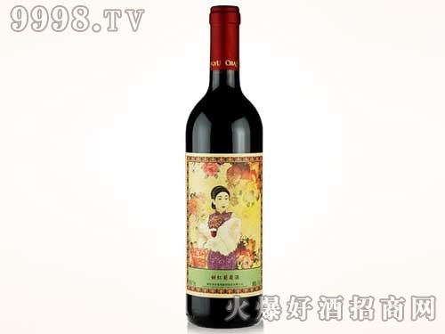 张裕名媛典雅甜红葡萄酒750ml