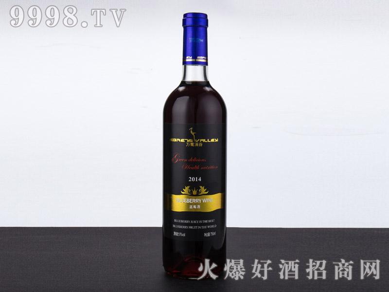 万鹭溪谷蓝莓酒・黑色诱惑750ml