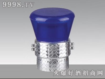 嘉泰全塑防伪瓶盖深蓝JTG-020