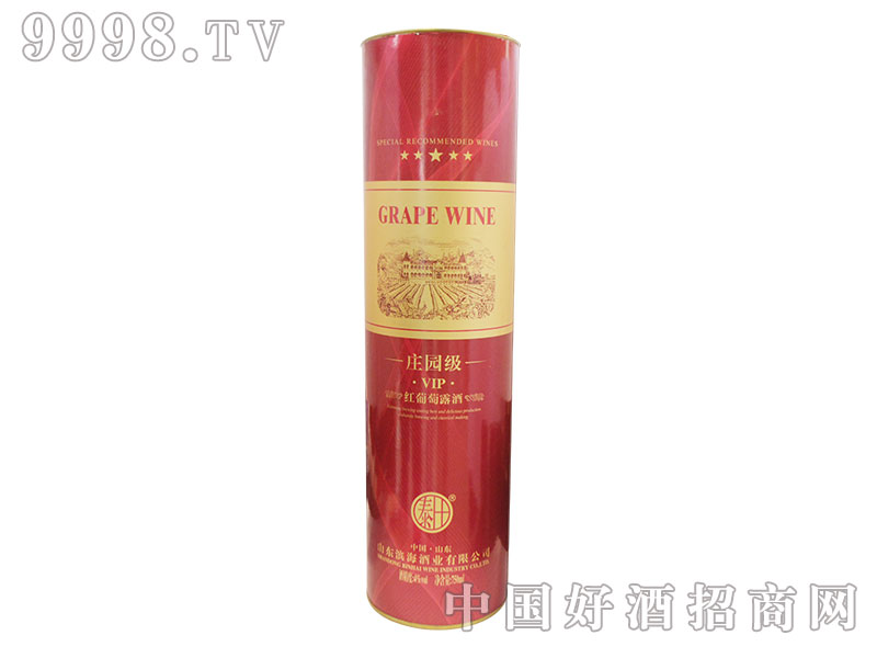 庄园级VIP红葡萄露酒木盒