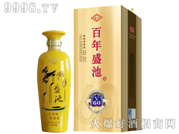 百年盛池酒V60 500ml