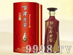 百年老窖酒精制(扁圆铁盒)LZ-06