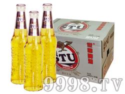 世图啤酒玻璃瓶(10度金樽)325mlx24瓶