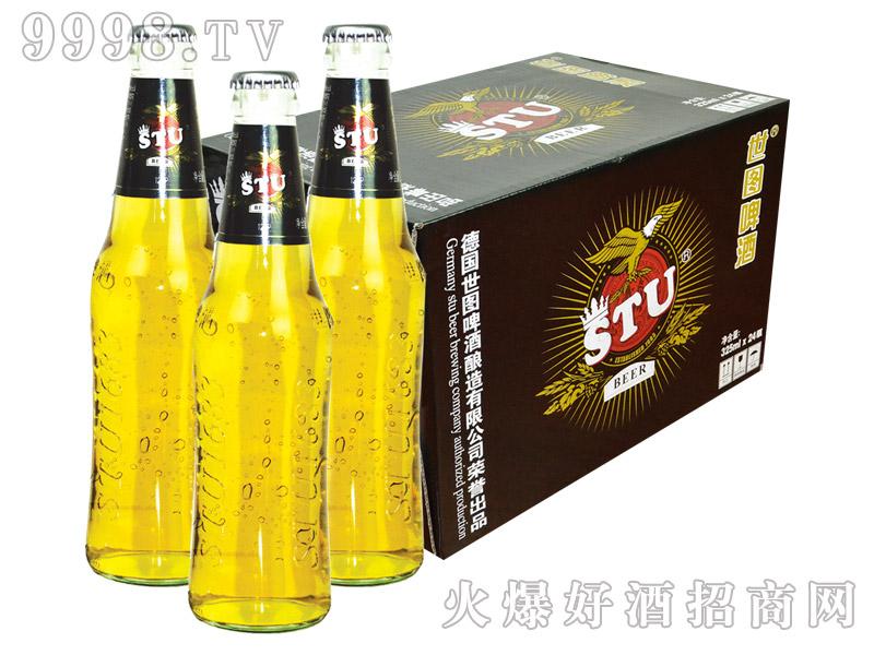 世图啤酒玻璃瓶(12度原浆)325mlx24瓶