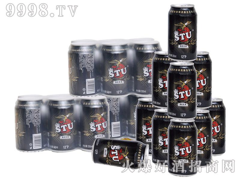 世图啤酒易拉罐(12度白啤)330mlx24罐