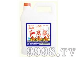 江滨东北红高粱酒42°4L(1×4)