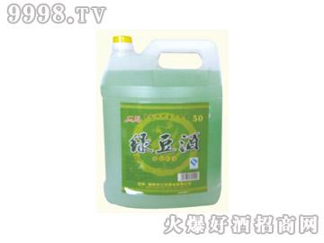 江滨绿豆酒50°4L