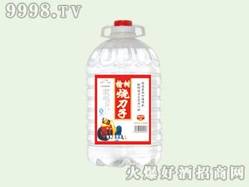 江滨榆树烧刀子酒50°4.5L(1×4)
