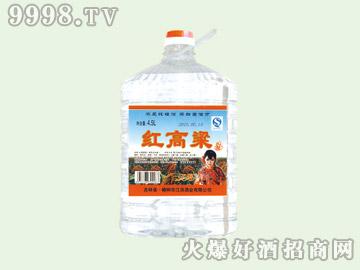 江滨红高粱酒50°4.5L(1×4)