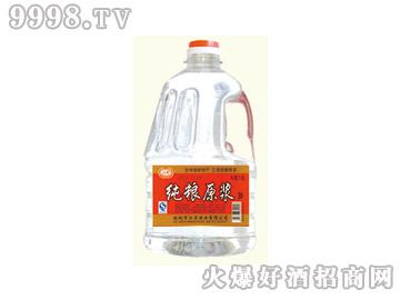 江滨纯粮原浆酒40°2L