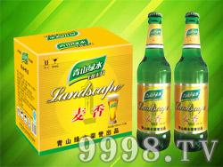 青山绿水麦香啤酒