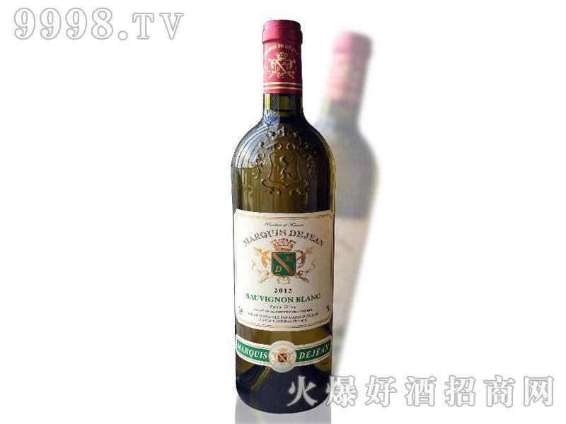 法国大酒窖GCF帝荣侯爵长相思干白葡萄酒