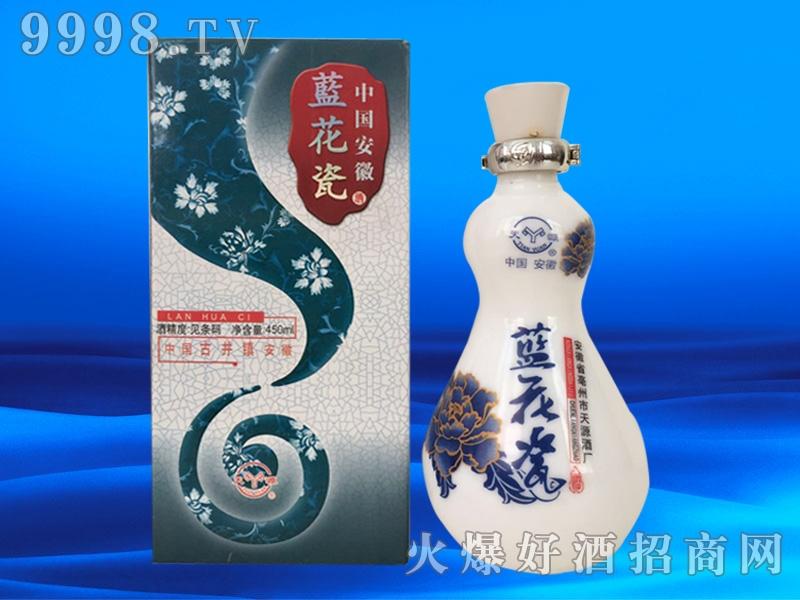 天源中国梦酒蓝花瓷礼盒装