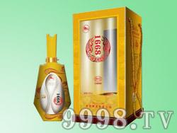 双沟酿酒1668酒黄钻