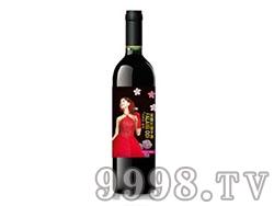 法莱斯美国红提子红葡萄酒