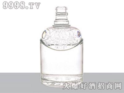 正华晶白玻璃瓶花纹型ZH-J-101-500ml