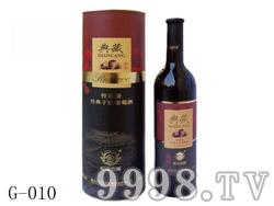 欧亚庄园典藏经典干红葡萄酒(圆桶)