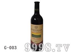 欧亚庄园珍选级干红葡萄酒