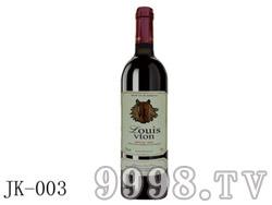 法国艾诺安城堡赤霞珠干红葡萄酒